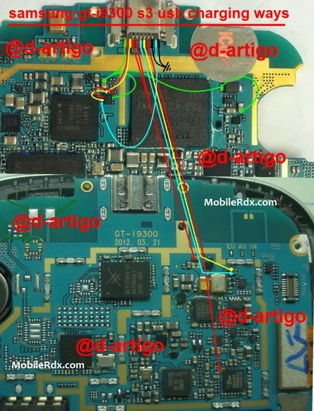 Samsung Galaxy S3 I9300 Usb Charging Jumper Ways Solution
