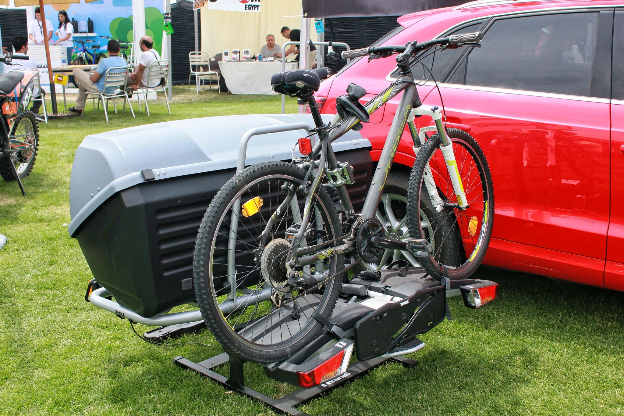 Thule Easyfold The Smart Solution For The Tow Bar Hitch Bike