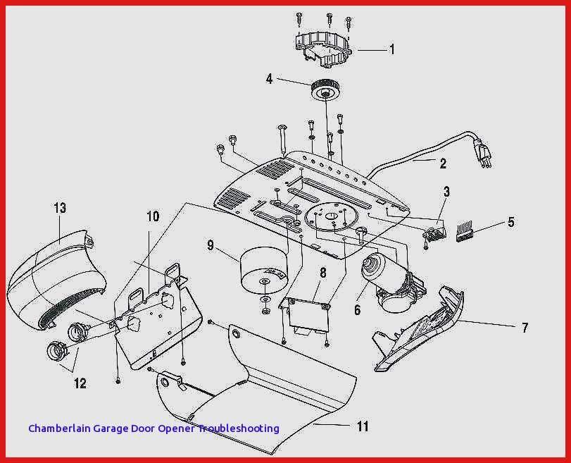 36 Chamberlain Garage Door Opener Parts Diagram Vj0w Di 2020