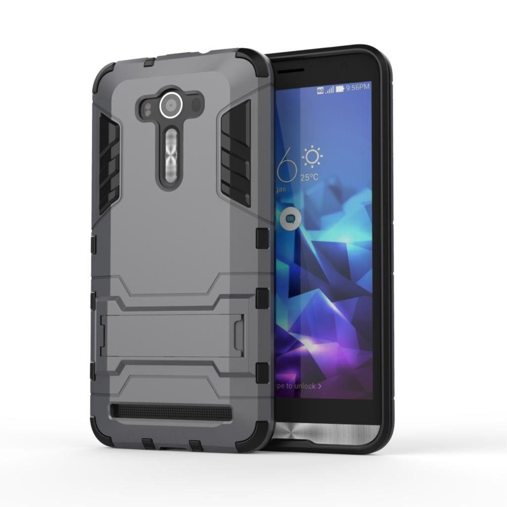 For Asus Zenfone 2 Laser ZE550kl Case ZE551KL Slim Shockproof Robot Armor Protector Rugged Rubber Hard