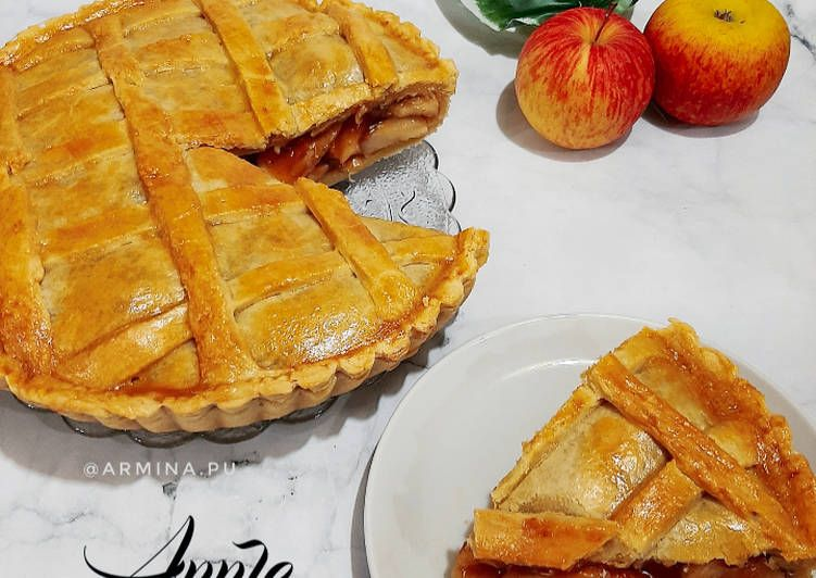 Bagaimana Cara Membuat Apple Pie Resep Resep Makanan Pie Apel Adonan