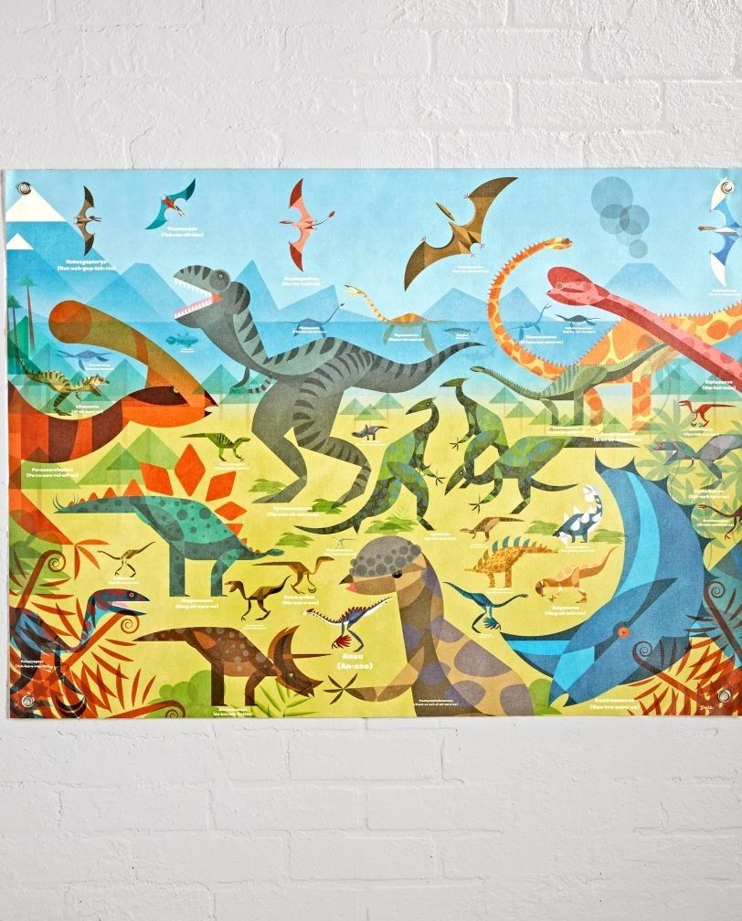 Shop All About Dinosaurs Banner. Put this dinosaur banner on your ...