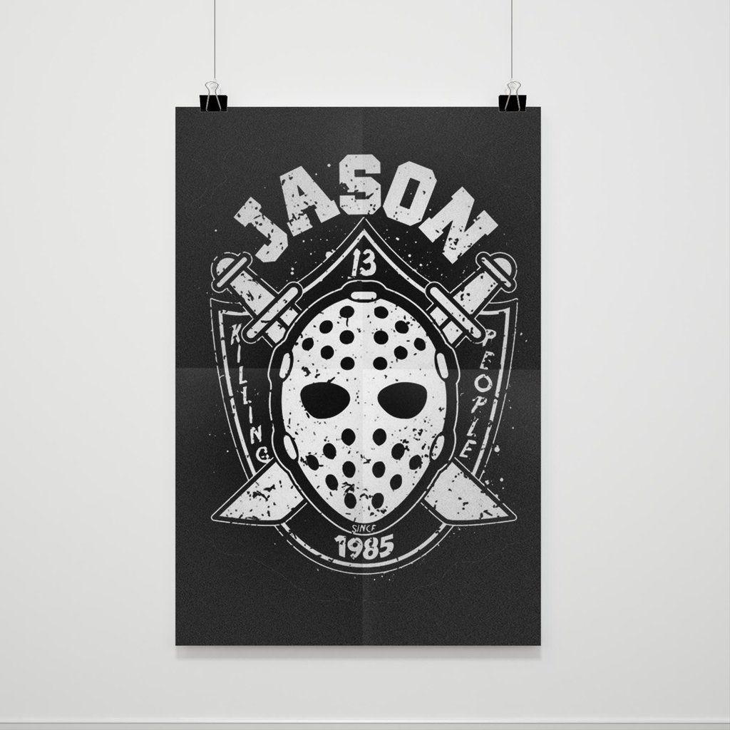 Jason Voorhees Poster #jasonvoorhees