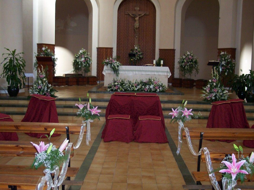decoracin de iglesias para bodas buscar con google