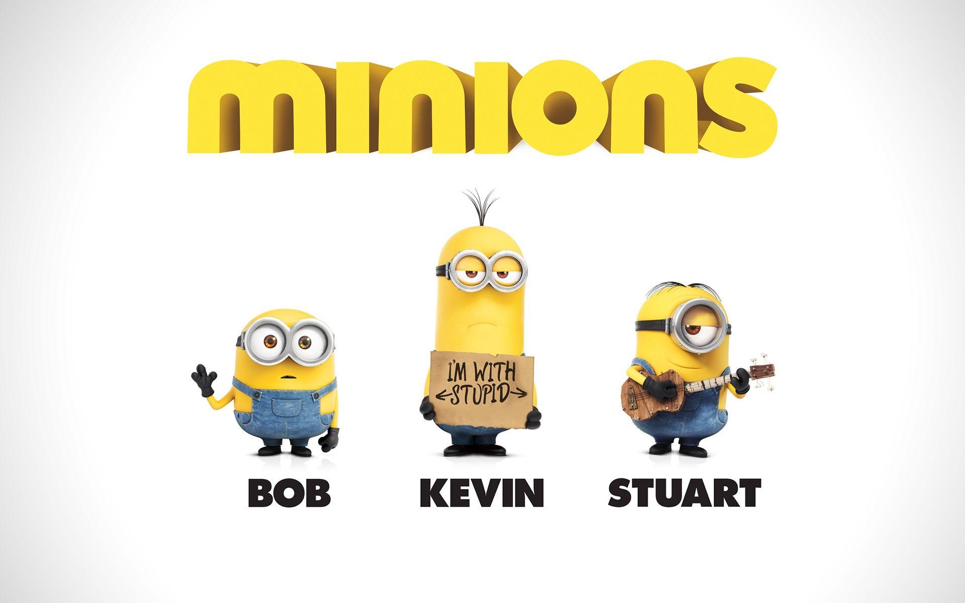 Minions Desktop Wallpaper Bob Kevin Stuart