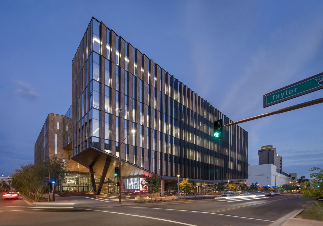 Beus Center for Law and Society / ennead Architects © Bill Timmerman