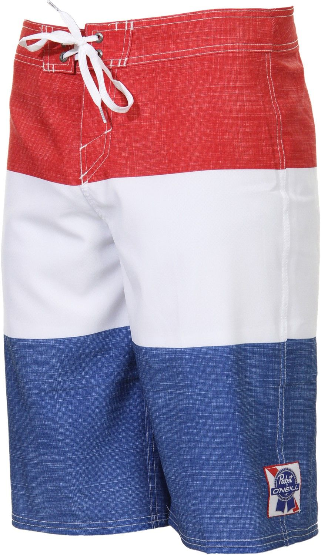 827ec0f04f O'Neill | PBR Stripes Boardshorts $53.95 #pabst #pbr #beer | Beach ...