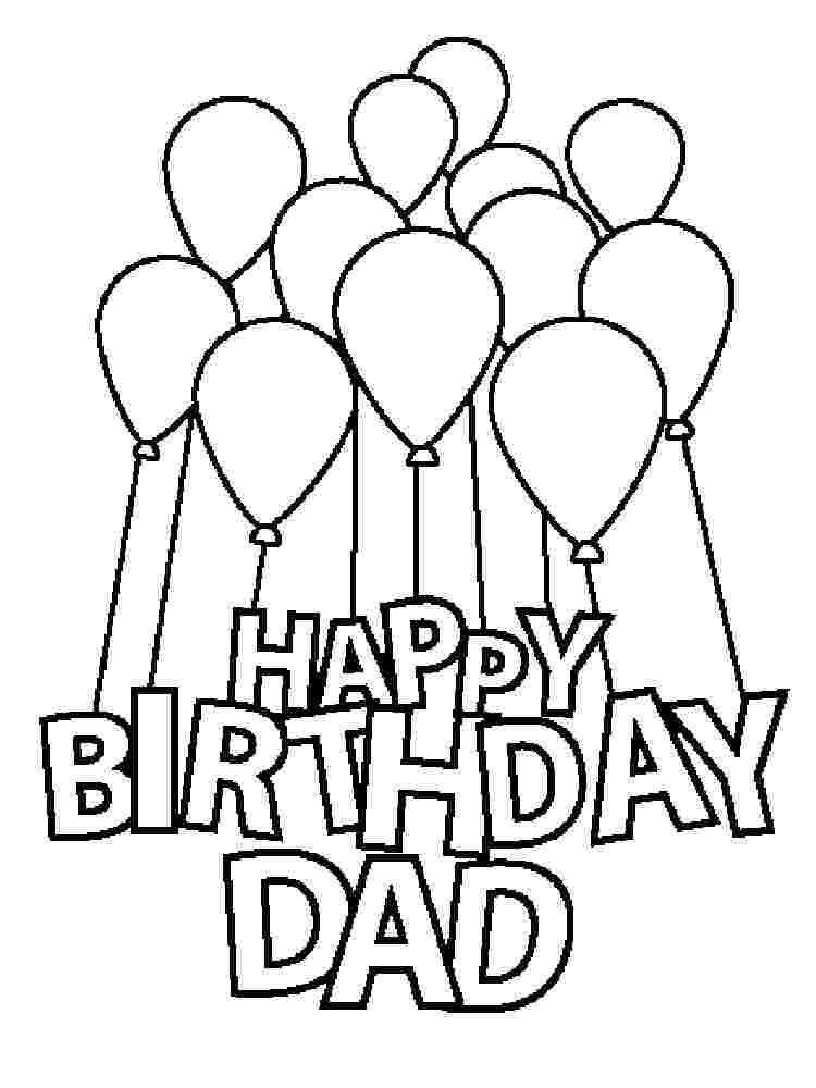 Birthday Presents Coloring Pages Coloring Pages Birthday Card For Dad 50 Gorgeous Colo Happy Birthday Coloring Pages Birthday Coloring Pages Mom Coloring Pages