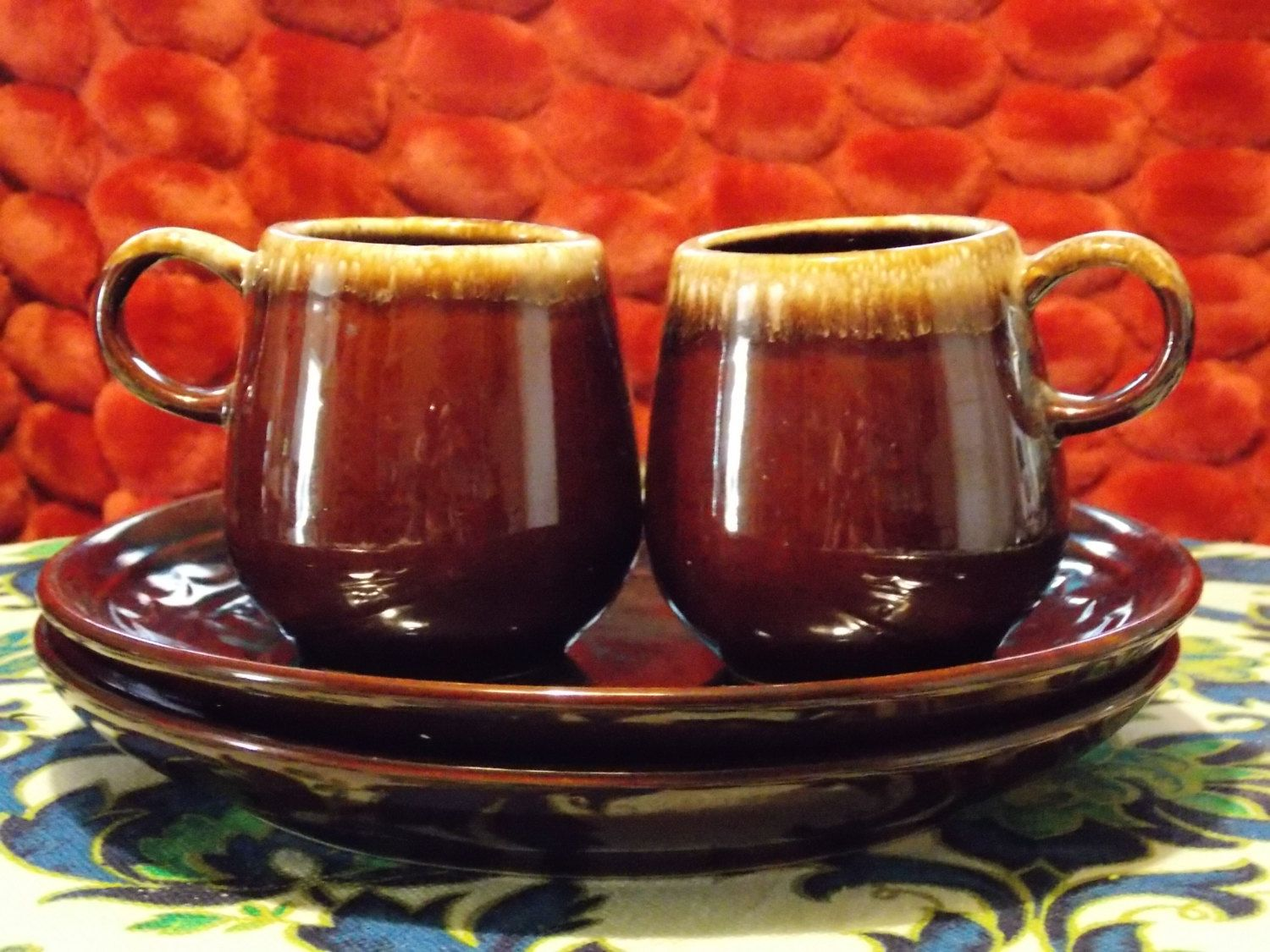 The Real McCoy 2 McCoy coffee cups w/ set of by EnchantingArtistry, $29.95
