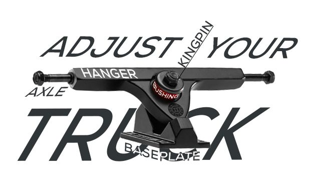 Tuesday Tips Adjust Your Trucks Kingpin Nut Loosen To Improve Turning Axle Nut Torque Properly If Bearings Are Clicking B Longboarding Tips Boosting