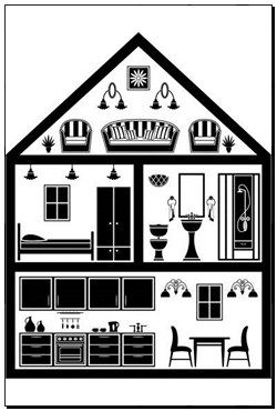 Pin On Inside House Vector