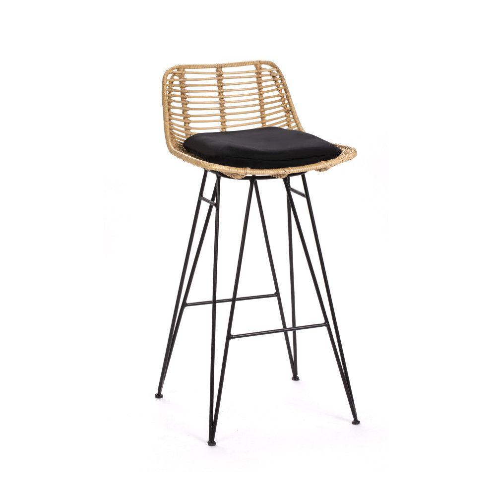 Chaise De Bar Design En Rotin 67cm Drawer Capurgana Chaise De