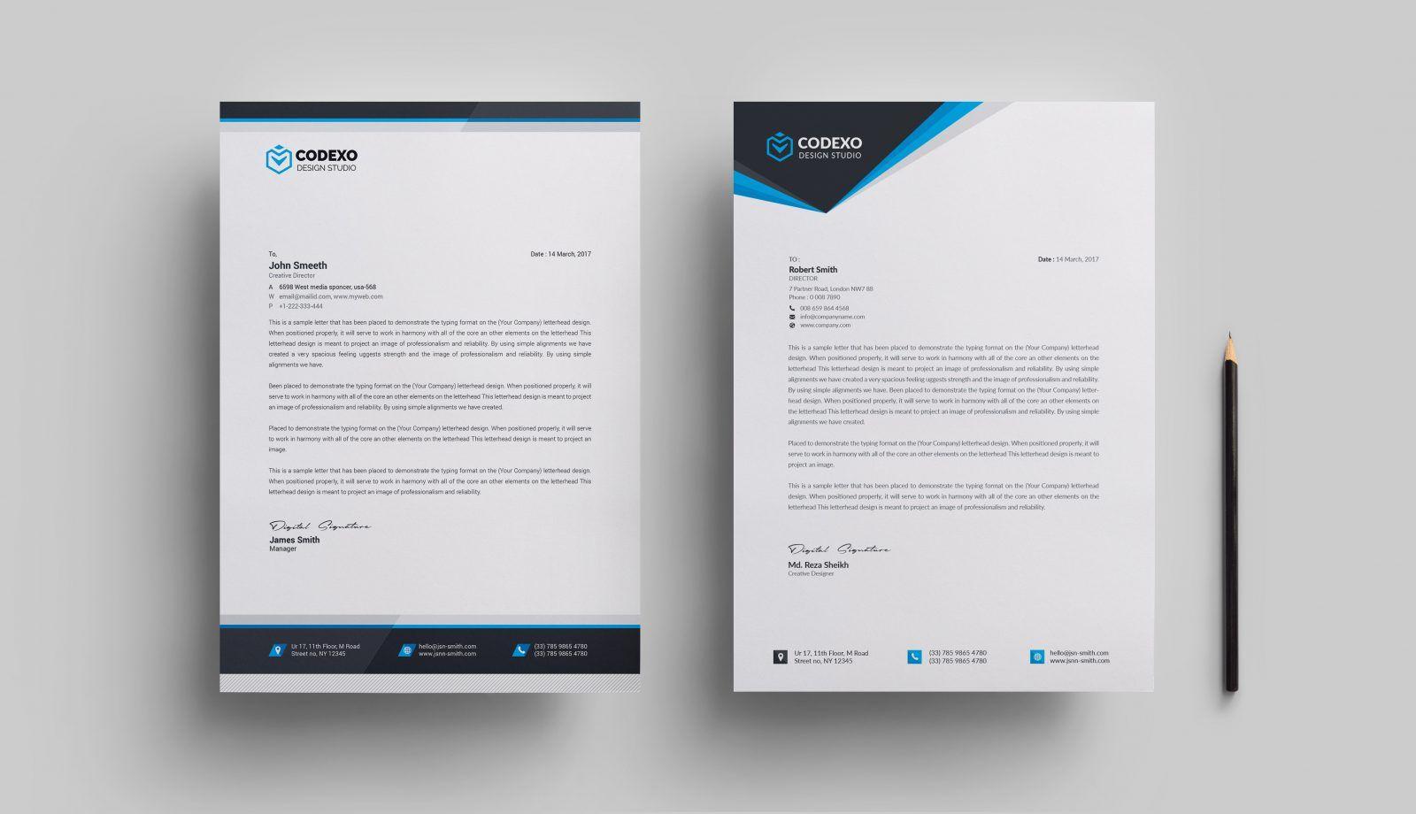 letterhead design templates 000610 company letterhead template