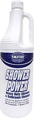Photo of Shower Power – Powerful Bathroom Cleaner From Concentrate – Tub And Shower Cleaner – Cleans Tubs, Toilets, Urinals, Fixtures & More-1 Qt.