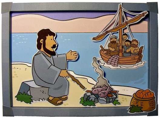 Picnic At Beach 3d Picture Bible School Crafts Bible Story