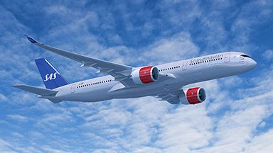 Sas Selects Eight A350 Xwbs And Four A330s Flightpress Scandinavian Airlines System Sas Airbus