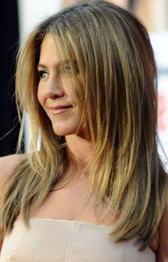 Easy Balayage Straight Lob Hair Styles Women Medium Haircuts 2017