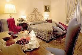 The double bedrooms of Relais Todini