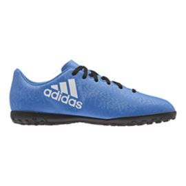 adidas Women\u0027s X 16.4 Turf Indoor Soccer Shoes - Blue/White/Black