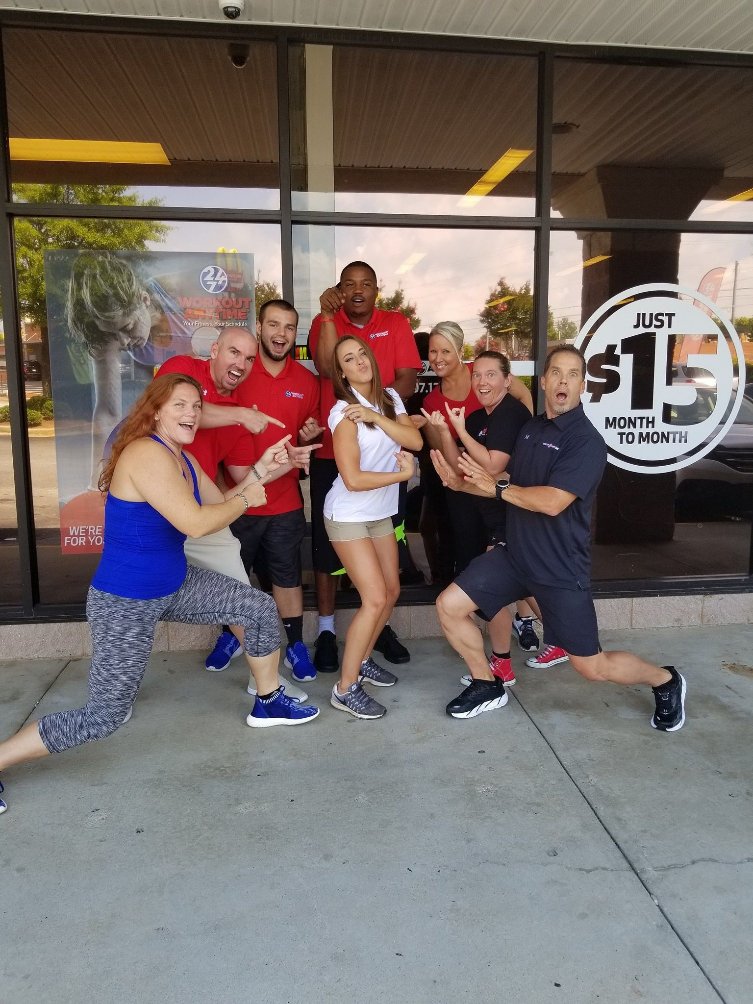 Workout Anytime Boiling Springs South Carolina Team Anytime Fitness Gym Workouts Spring Workout