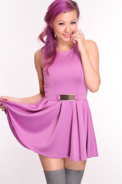 #Amiclubwear              #Skirt                    #Lavender #Skater #Skirt #Style #Sexy #Dress        Lavender Skater Skirt Style Sexy Dress                                        http://www.seapai.com/product.aspx?PID=1736680