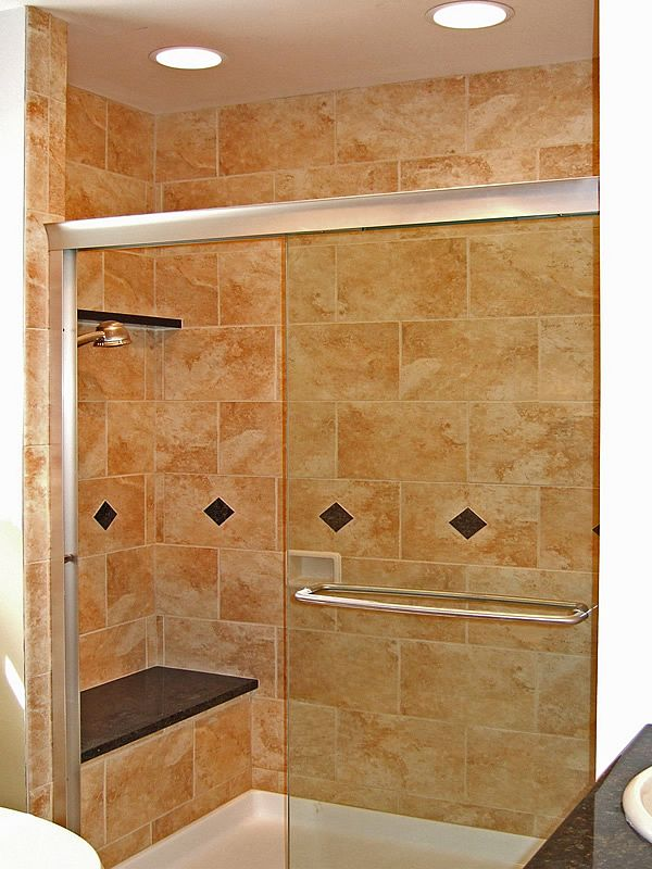 Minimalist tile shower design with bathtub small bathroom Luxury - Contemporary modern shower tile ideas Simple