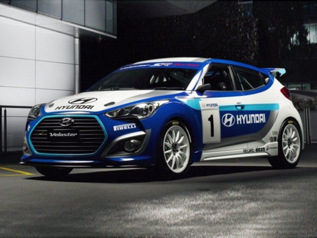Hyundai Veloster Racing Concept Hyundai Veloster Hyundai Veloster Turbo