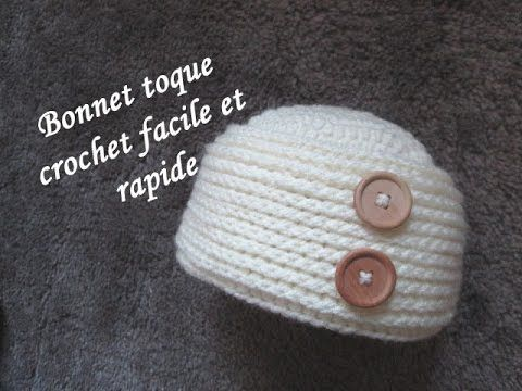 Tuto Bonnet Toque Crochet Facile Hat Easy Crochet Relief