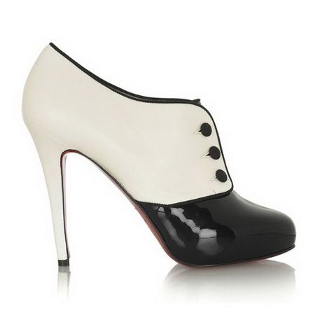 los angeles 8997f c8e10 Discount Christian Louboutin Booties Esoteri 120mm White ...
