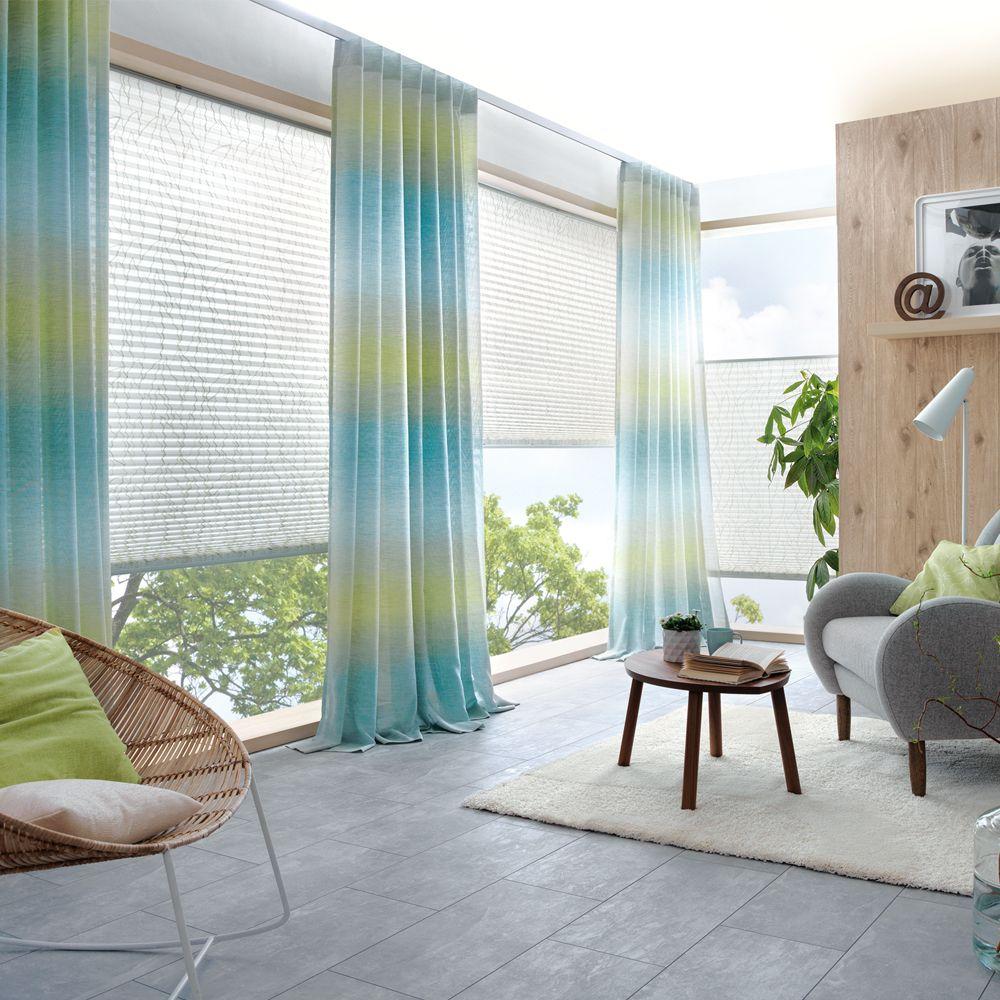 Dekoschal-Gardine für Ihr Wohnzimmer | Gardinen, Elegante ...
