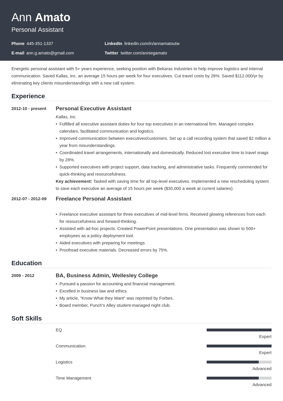 Personal Assistant Resume Example Template Influx Manager Resume Resume Examples Job Resume Examples