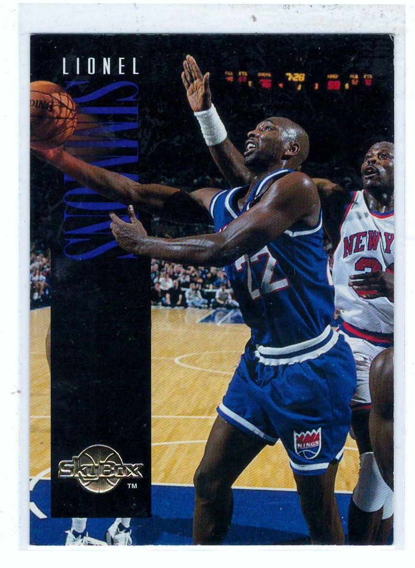 Sports Cards Basketball 1994 Skybox Lionel Simmons