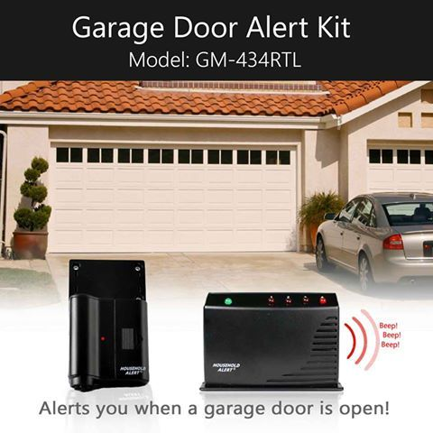 Long Range Functionality Allows The Sensor To Signal The Receiver From Long Distances Downstairs Garage Door Sensor To Upstairs B Garage Door Sensor Garage Doors Garage
