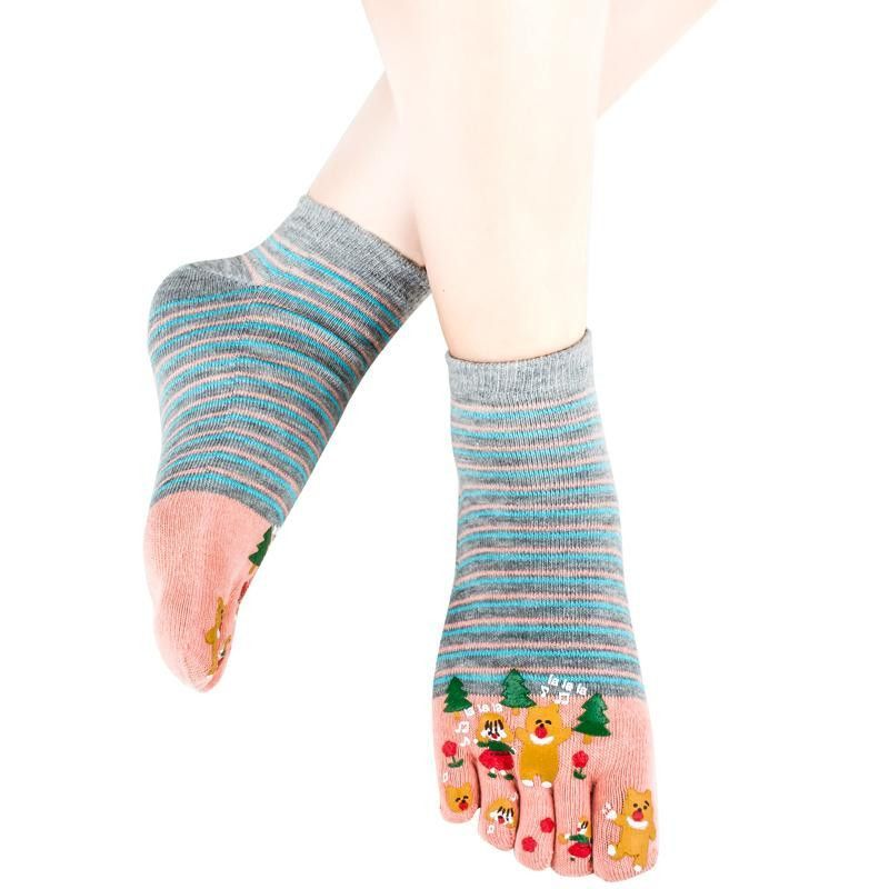 Wiggle Socks Miss sexy comfortable style woman's foot - high 100% cotton toe socks five fingers socks comic female 5 - toe socks