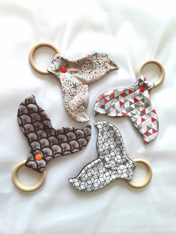 Whale Blanket Dention pacifier wooden ring teether rattle