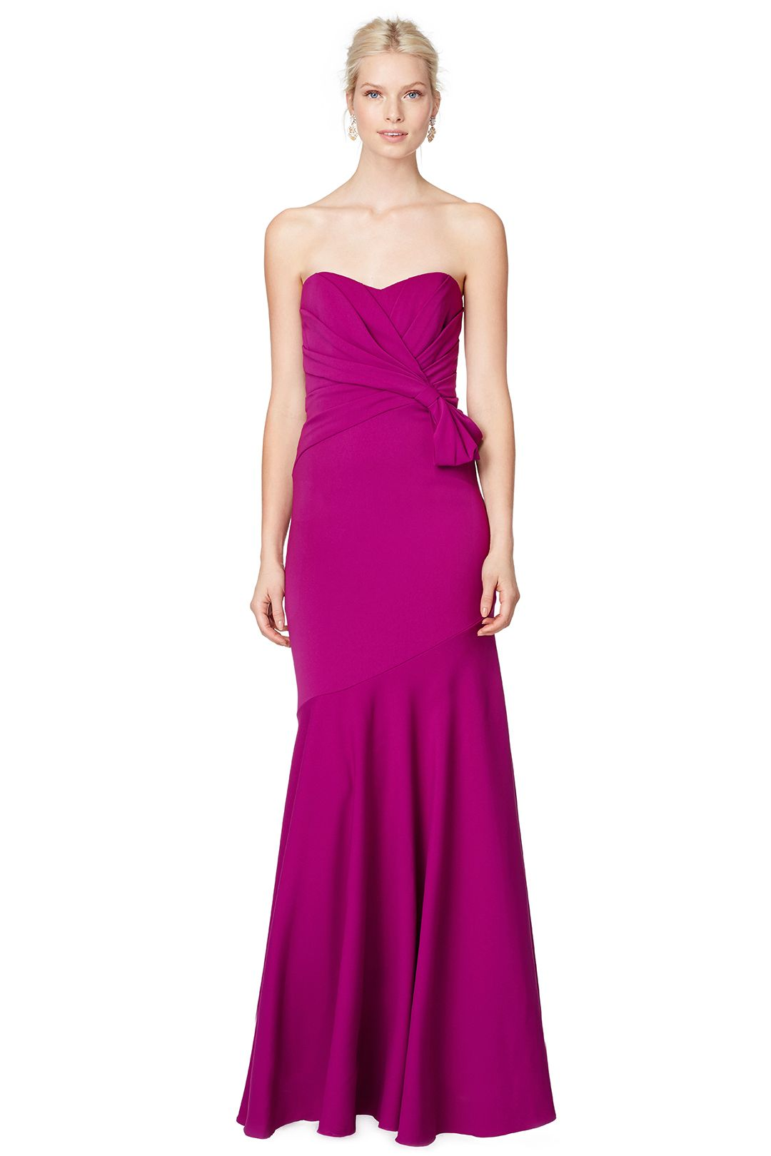 Orchid Petal Gown | Badgley mischka, Orchid and Gowns
