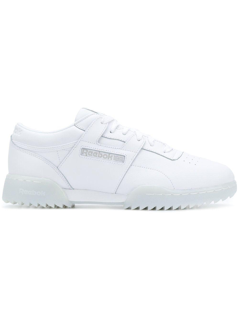 59cc407d2fe Reebok Workout Clean Ripple sneakers