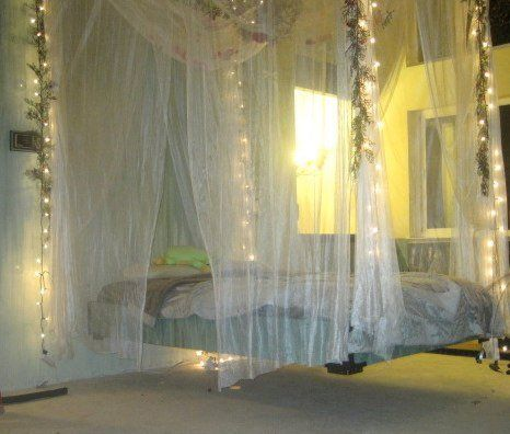 Floating Fairy bed♥.•:*´¨`*:•♥Loooove this.