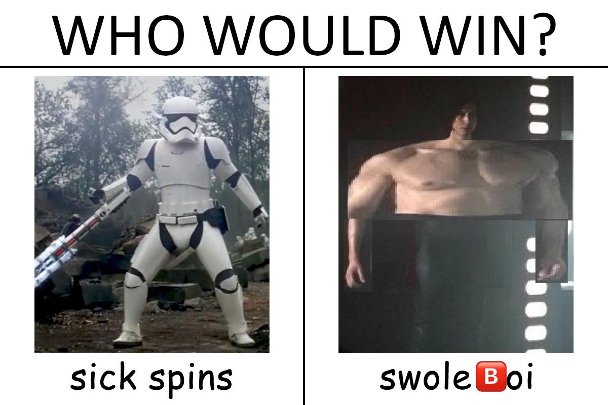 Duel Of The Memes Ben Swolo Star Wars Humor Star Wars Jokes Star Wars Film