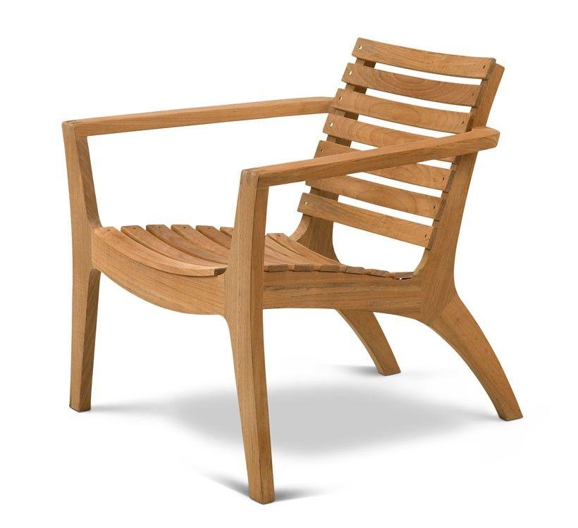 Outdoor Lounge Chair Regatta Von Skagerak I Holzdesignpur Gartensessel Lounge Stuhl Gartenstuhle