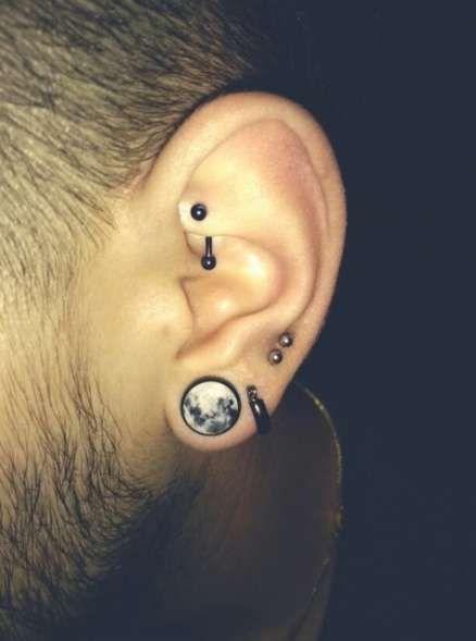 Piercing oreille hommes jauges 59+ meilleures idées   – Accessories
