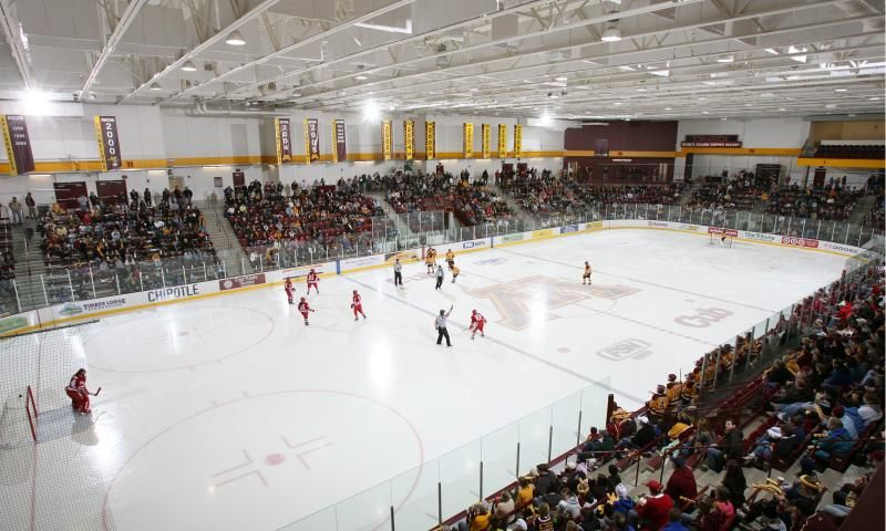 Ridder Arena Home To Gopher Women S Hockey College Hockey Hockey Arena Hockey