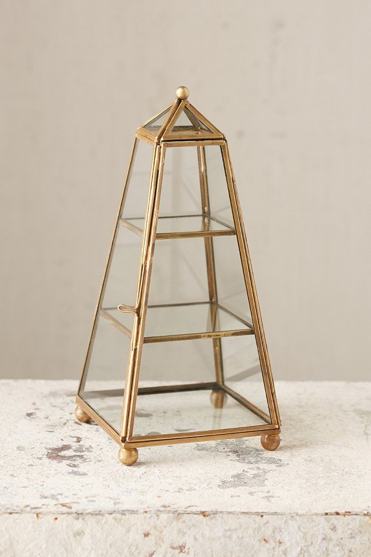 Magical Thinking Tower Glass Box Urban Outfitters Terrariums