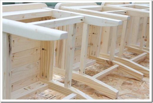 Lovely DIY Farmhouse Kitchen Chairs: Step By Step Building Plans. Upholstered Dining  Room ...