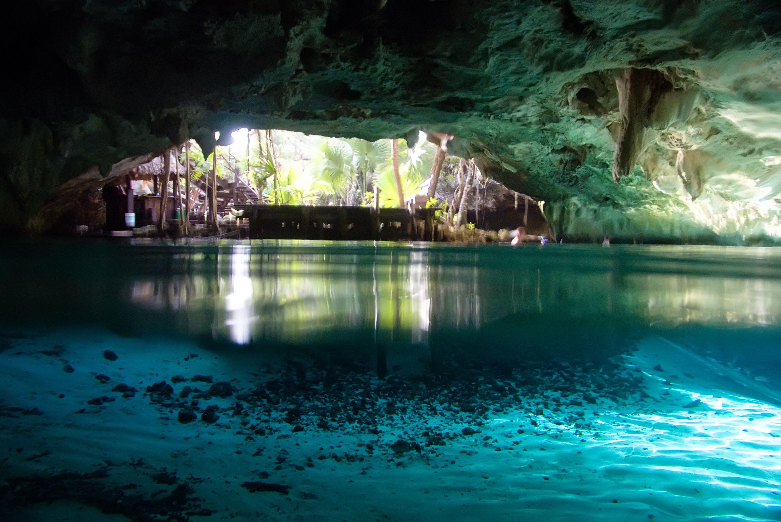 Beautiful underwater cave wallpaper background | amazing ...