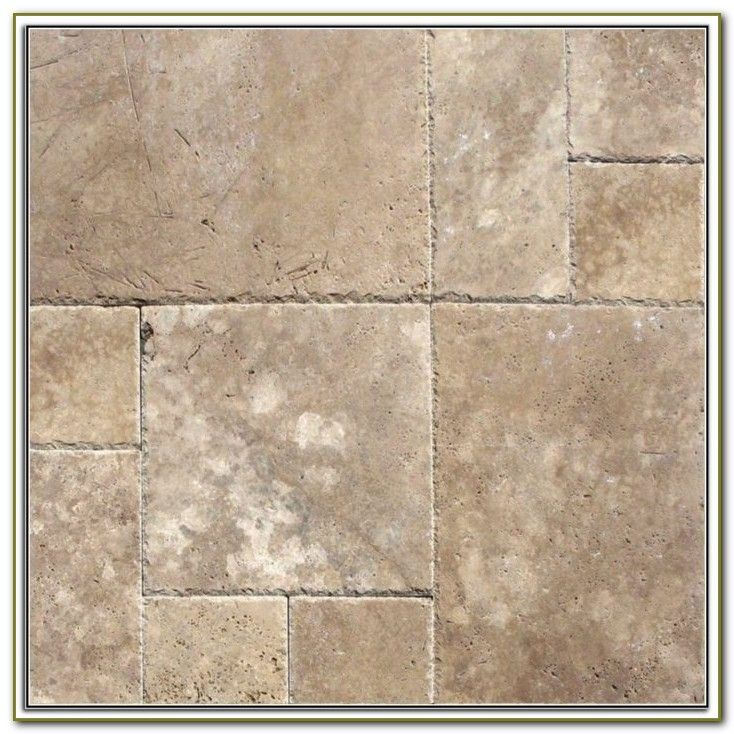 Travertine Look Porcelain Tile Home