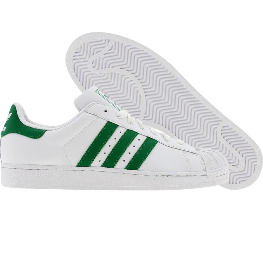 Adidas Superstar II 2 (white / fairway / white) Shoes G17069