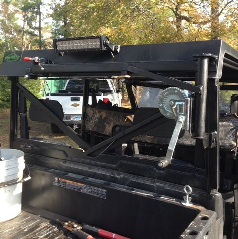 2015 Ranger 900 Crew Game Deer Hog Hoist Loader My Way Polaris Ranger Accessories Polaris