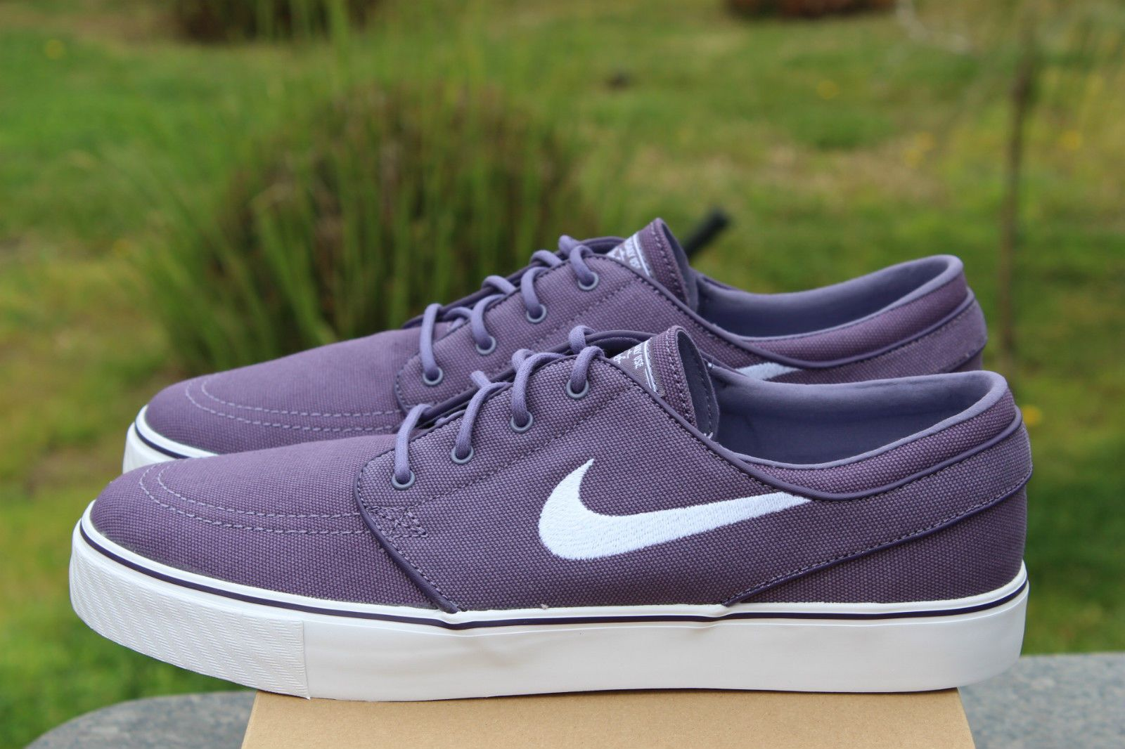 43845025a5f2 Nike Zoom Stefan Janoski SB Sz 12 Grand Canyon Purple White ...