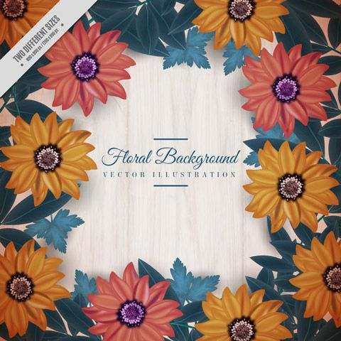 FREE Floral Wreaths on Behance